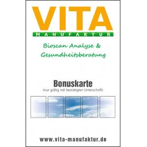 5x Bioscan Bonuskarte